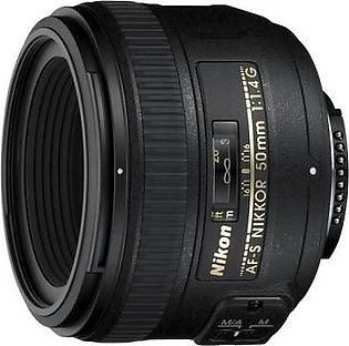 Nikon AF-S NIKKOR 50mm f/1.4G Digital Camera Lens