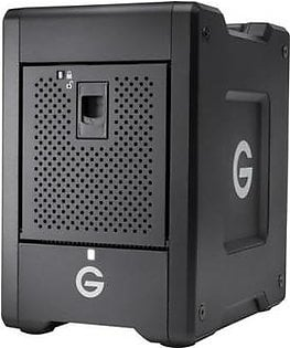 G-Technology G-SPEED Shuttle 4-Bay Storage System with Thunderbolt 3