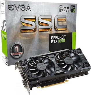EVGA GeForce GTX 1050 SSC Gaming, 2GB GDDR5, ACX 3.0 Graphics Card