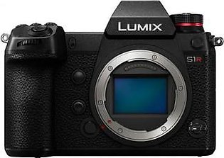 Panasonic LUMIX S1R Body, Digital Mirrorless Camera with 47.3MP MOS Full Frame, L-Mount Lens Compatible