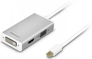 Macally Aluminum Mini Displayport to Monitor, HDTV, or Projector for Mac