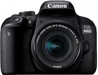 Canon EOS 800D + EF-S 18-55 IS STM Lens Digital SLR Camera