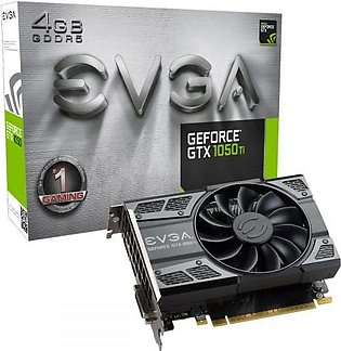 EVGA GeForce GTX 1050 Ti Gaming, 4GB GDDR5, ACX 2.0 (Single Fan) Graphics Card