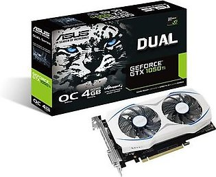 ASUS Dual GeForce GTX 1050 Ti Graphics Card
