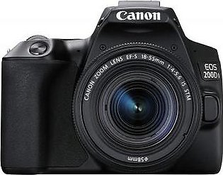 Canon EOS 200D II Digital SLR Camera with EF-S 18-55mm IS STM