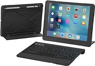 ZAGG Rugged Book Pro Durable Wireless Keyboard & Detachable Case with Stand for Apple 9.7-inch iPad Pro