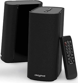 Creative Labs T100 Compact Hi-Fi 2.0 Desktop Speakers for Computers and Laptops