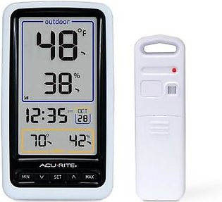 AcuRite Wireless Digital Thermometer with Outdoor Temperature and Humidity
