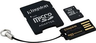 Kingston MicroSDHC Card - Class 4 with Mobility Kit