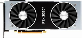NVIDIA GeForce RTX 2080 Ti Founders Edition Graphics Card