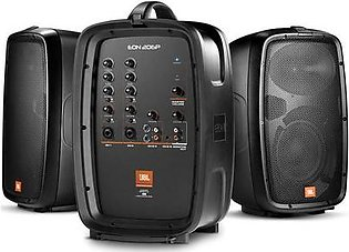 """JBL EON206P Portable 6.5"""" Two-Way System with Detachable Powered Mixer"""