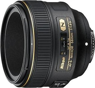 Nikon AF-S NIKKOR 58mm f/1.4G Digital Camera Lens