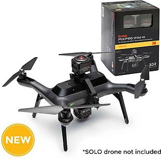 Kodak SP360 4K - AERIAL Pack - Includes (2) SP360 4K VR Cameras and SOLO(TM) ...