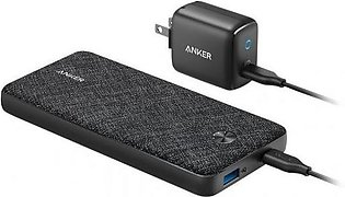 Anker PowerCore Metro Power Bank with 20000 PD Bundle Wall Charger