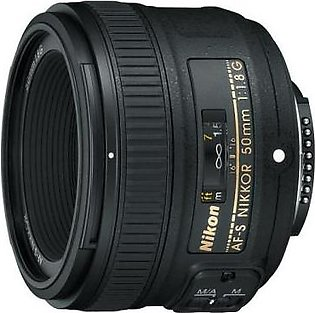 Nikon AF-S NIKKOR 50mm f/1.8G Digital Camera Lens