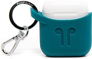 PodPocket Apple AirPods Case - Cosmos Teal