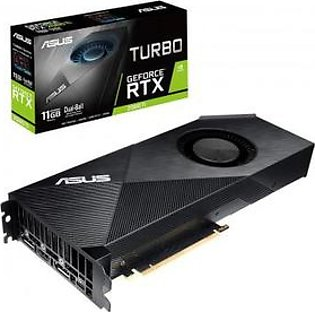 ASUS Turbo GeForce RTX 2080 Ti 11GB GDDR6 with High-Performance Blower-Style Cooling for Small Chassis and SLI Setups Graphics Card