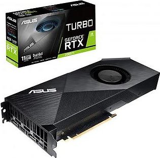 ASUS Turbo GeForce RTX 2080 Ti 11GB GDDR6 with High-Performance Blower-Style ...