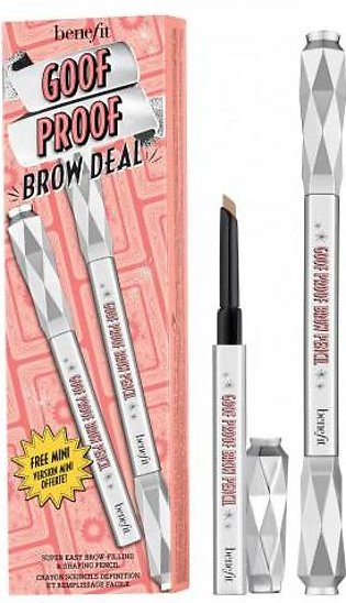 Benefit Cosmetics Goof Proof Brow Deal Super Easy Brow Filling & Shaping Penc...