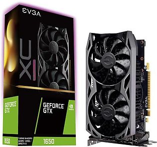EVGA GeForce Gtx 1650 XC Ultra Overclocked Graphics Card