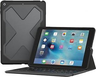 ZAGG Rugged Messenger Wireless Keyboard & Durable Detachable Case for Apple 9.7-inch iPad