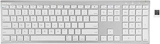 Macally Ultra Slim RF Wireless Aluminum Keyboard for Mac