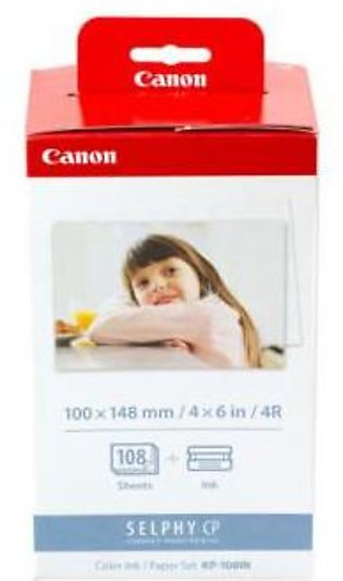 Canon KP-108IN Color Ink/Paper Set