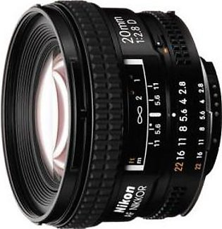 Nikon AF Nikkor 20mm f/2.8D Digital Camera Lens