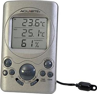 AcuRite Digital Thermometer with 10-foot Temperature Sensor Probe and Humidity