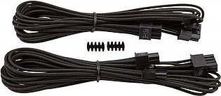 Corsair Premium Individually Sleeved PCIe Cables with Single Connector, Type 4 (Generation 3)