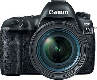 Canon EOS 5D Mark IV EF 24-70mm f/4L IS USM Lens Kit