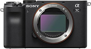 Sony ILCE-A7C Mirrorless Digital Camera (Body Only)