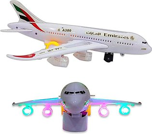 Emirates Airlines Airbus A380 Light & Sound Toy Plane
