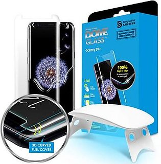 Whitestone Dome Tempered Glass Screen protector with UV For Galaxy S9 Plus