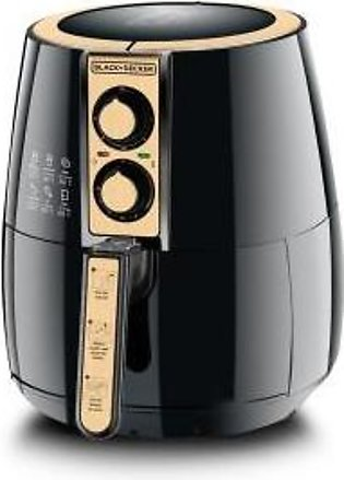 Black + Decker AF300 4L Manual Air Fryer With Official Warranty