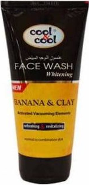 Cool & Cool Whitening Face Wash for Men 150ml