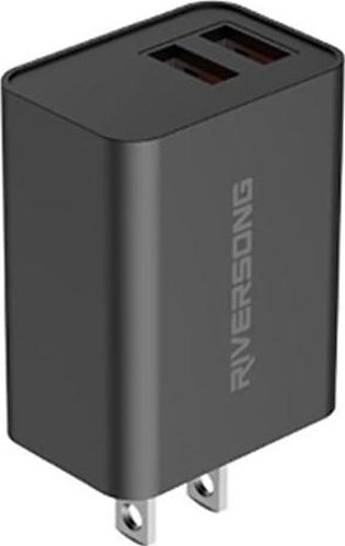 Riversong SafeKub D2 QC 2.4 Wall Charger - AD29 with Official Warranty