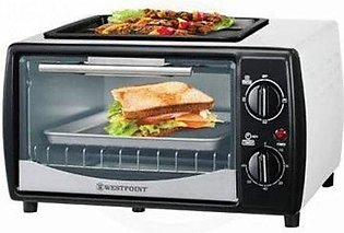 Westpoint WF-1000D Oven Toaster & Hot Plate 10 Liter With Official Warranty