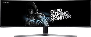 Samsung LC49HG90DMMXUE 49-Inch QLED Curved Gaming Monitor Black