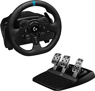 Logitech G923 Racing Wheel & Pedals For PS4,XBOX & PC