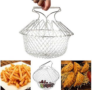 Chef Basket Kitchen Tool - Silver