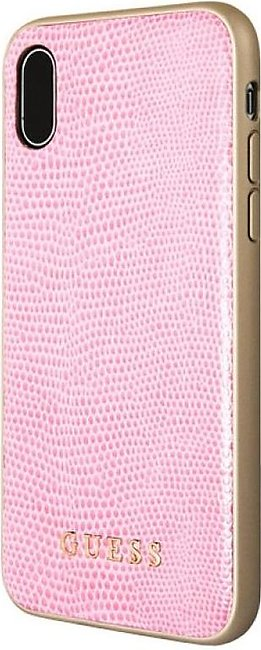 Guess Python PU Leather Hard CaseFor iPhone X