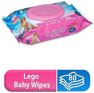 LEGO BABY WIPES (80 PCS)