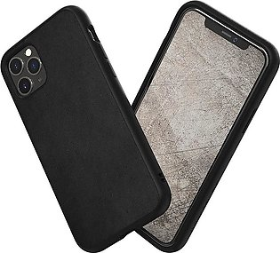 RhinoShield SolidSuit for iPhone 11 Pro Max – Leather / Black
