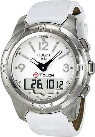 Tissot Leather Analog Watch for Men