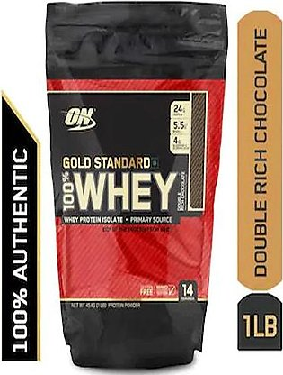 Gold Standard 100% Whey Protein Powder 1lbs Double Rich Chocolate