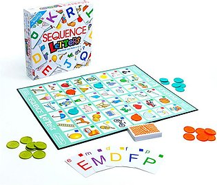 Sequence A to Z Letters Board Game for Kids