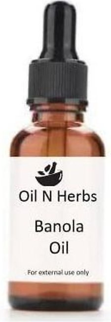 Oil N Herbs 30 ML Banola oil Cotton Seed for Damaged Hair by Dyes بنولہ