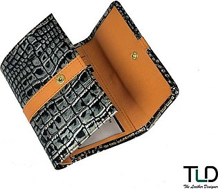 Leather Wallet For Women: Style No. LW-75 By TLD