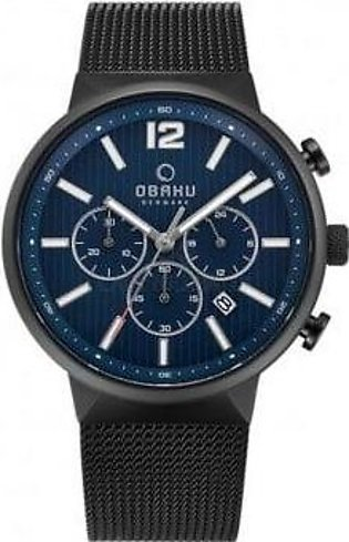 Obaku V180GCBLMB Men Watch with Official Warranty
